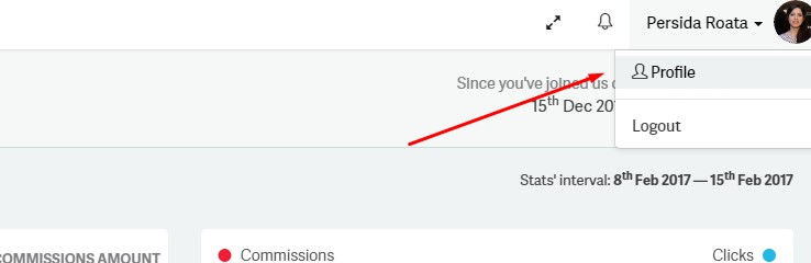 screenshot profile - subscribing to the 2Performant newsletter