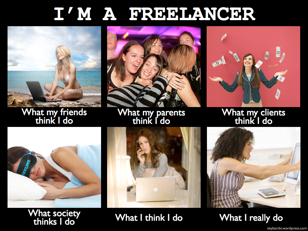 freelance how to work from home